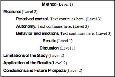 Thesis Proposal: Example of Outline and Structure